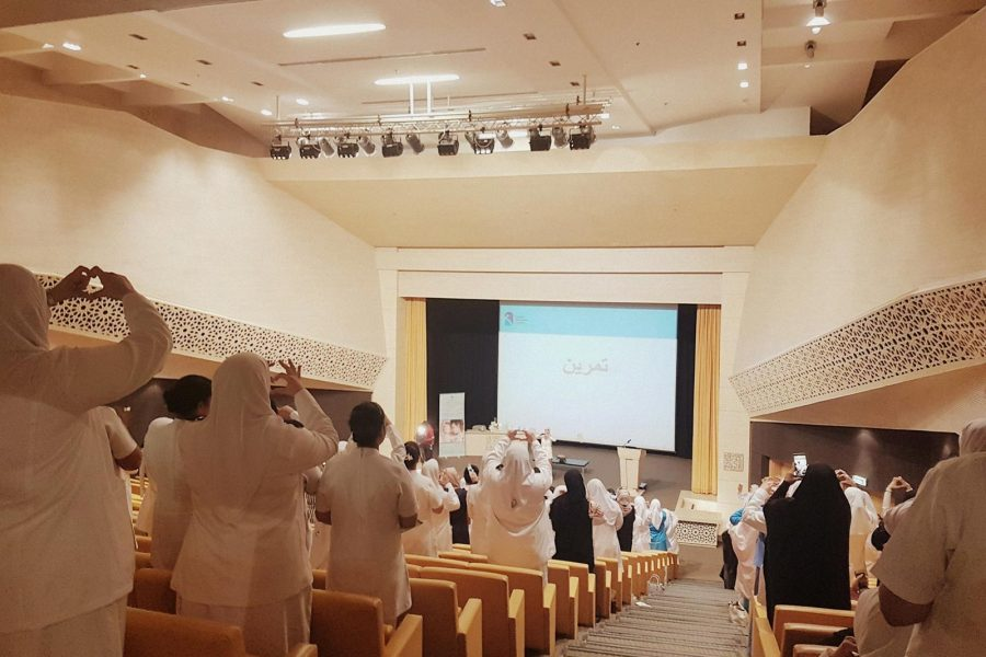 Prime Participation during the International Day of the Midwife celebration held At University Medical Center Of King Abdullah Medical City Manama Bahrain