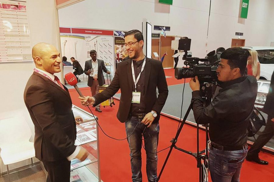 Prime Participation At Arab Health Exhibition at Dubai World Trade Center